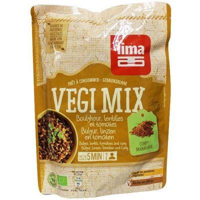 Lima Vegi mix bulgur linzen tomaten curry
