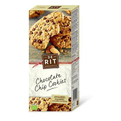De Rit Chocolade koekjes amandel