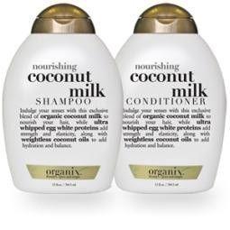 OGX Nourishing coconut milk conditioner