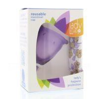 Ladycup Menstruatie cup lilac maat S