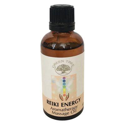 Green Tree Massage olie reiki energy
