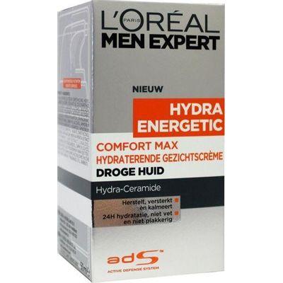 Loreal Men expert comfort max anti droge huid