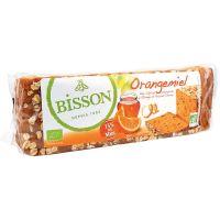Bisson Orangemiel honingkoek met sinaasappel voorgesneden