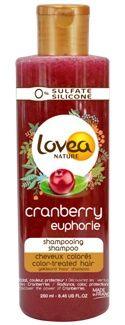 Lovea Cranberry shampoo