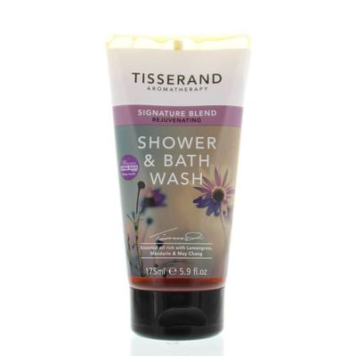 Tisserand Shower & bath wash signature blend rejuvenating
