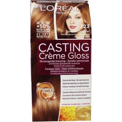 Loreal Casting creme gloss 723 Sweet caramel