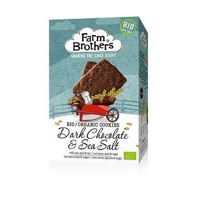 Farm Brothers Chocolade met zeezout koekjes