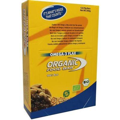 Organic Food Bar omega 3 flax 68 gram