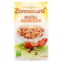 Zonnatura Muesli rood fruit bio