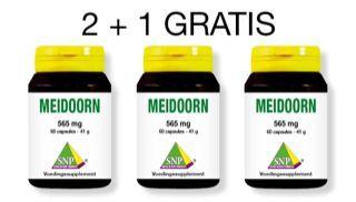 SNP Meidoorn 565 mg actie 2 + 1 gratis