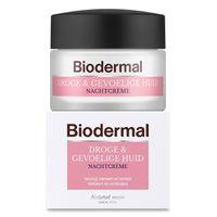 Biodermal Nachtcreme droge en gevoelige huid