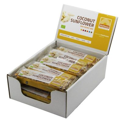 Mattisson Organic energy bar coconut sunflower 30 gram