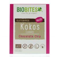 Biobites Raw food kokosbites chocolate chip