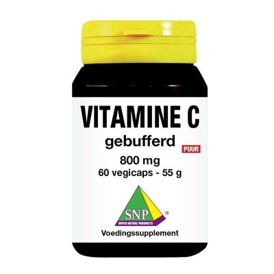 SNP Vitamine C 800 mg gebufferd puur