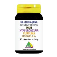 SNP Glucosamine chondro MSM hyaluron curcum boswellia