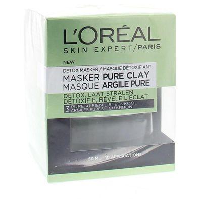 Loreal Skin care claymask radiance