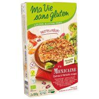 Ma Vie Sans Quinoaburger met rode bonen bio - glutenvrij 100g