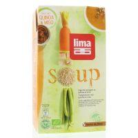 Lima Soep van tuingroente/quinoa