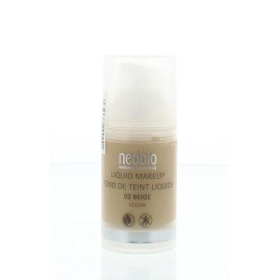 Neobio Vloeibare make up 02 beige