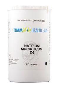 Timm Health Care Natrium muriaticum D6 8 Schussler