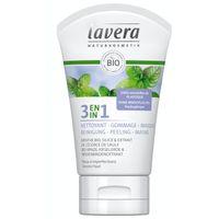 Lavera Was scrub masker/wash scrub mask 3 in 1 F-D