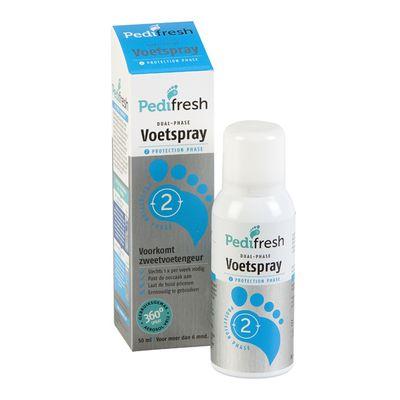 Pedifresh Fase 2 tegen lange termijn zweetvoeten spray