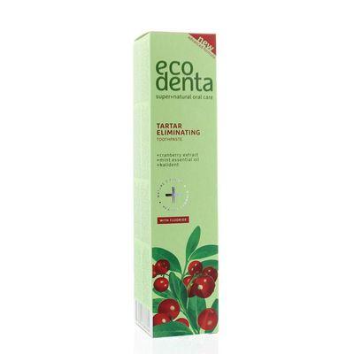 Ecodenta Tandpasta 2in1 verfrissend anti tandsteen