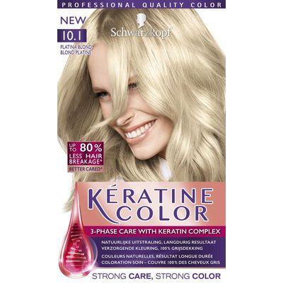 Schwarzkopf Keratine Color Haarverf 10.1 Platina Blond