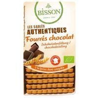 Bisson Biscuits gevuld met chocolade