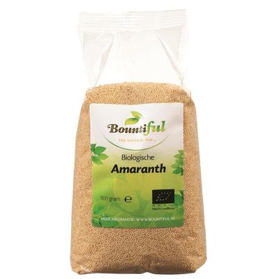 Bountiful Amaranth bio