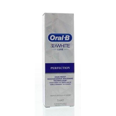 Oral B Tandpasta 3D white perfection