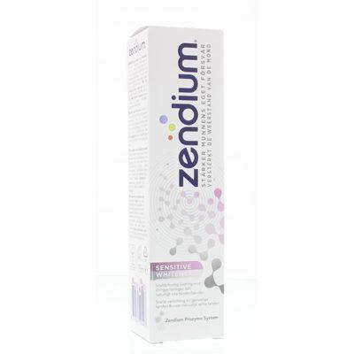 Zendium Tandpasta sensitive whitener