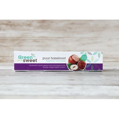 Greensweet Stevia chocoreep puur hazelnoot