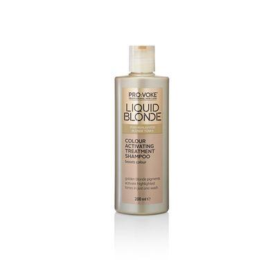 Provoke Shampoo liquid blonde colour activating treatment