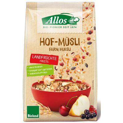 Allos Hof-muesli country fruit