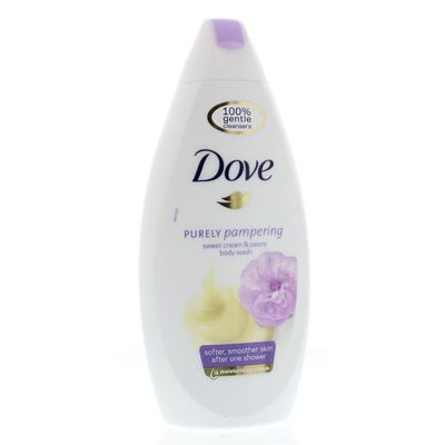 Dove Shower zoete creme & pioenroos