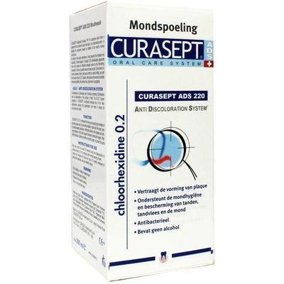 Curasept chloorhexidine 0.20% mondspoeling