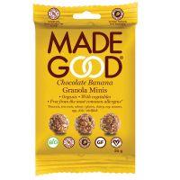 Made Good Granola minis chocolade banaan