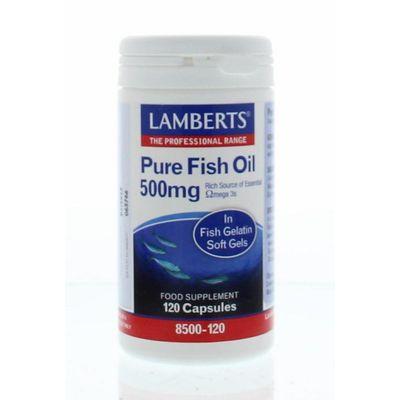 Lamberts Pure visolie 500 mg