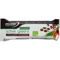 Organic Food Bar active greens covered probiotica