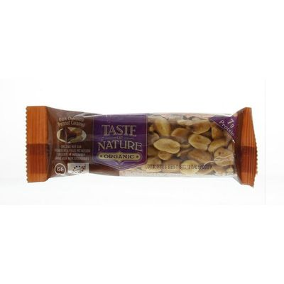 Taste Of Nature Dark chocolate peanut caramel
