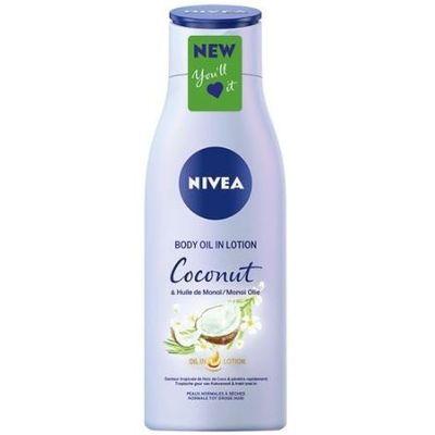 Nivea Body oil lotion coconut & monoi