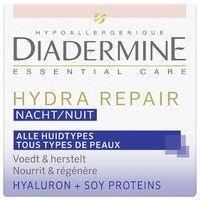 Diadermine Essential care hydra repair nachtcreme