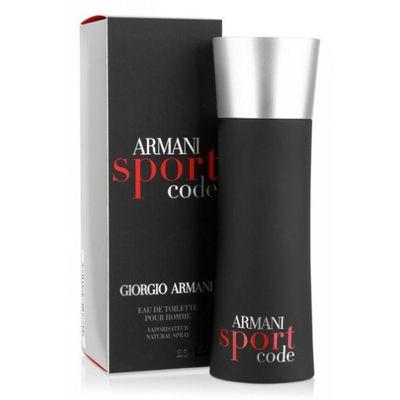 Armani Code sport eau de toilette vapo men