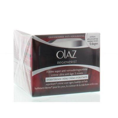 Olaz Regenerist daily 3-zone treatment