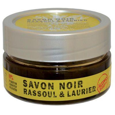 Aleppo Soap Co Zwarte zeep rassoul en laurier