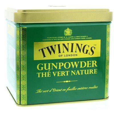 Twinings Gunpowder blik