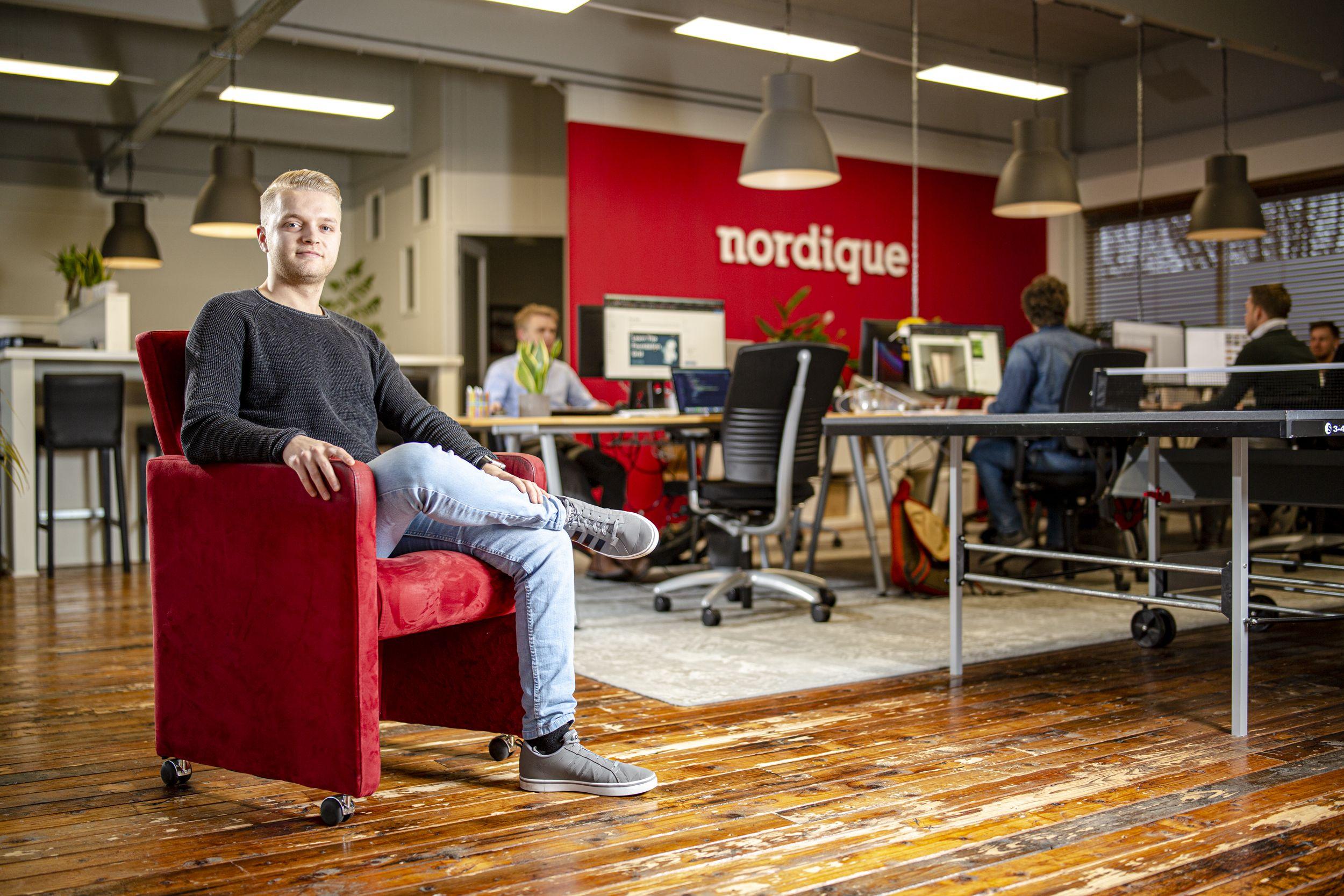 Daan Kats - Front end developer bij Nordique