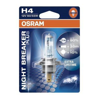 Osram autolamp H4 Night Breaker Plus