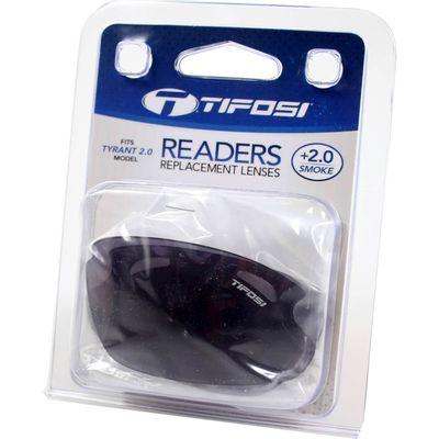 Tifosi reader lens Tyrant 2.0 smoke +2.0